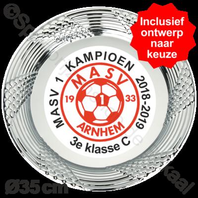 Kampioensschaal Ø35cm   D 283