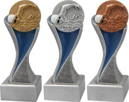 Zwemfiguur - Goud-Zilver-Brons