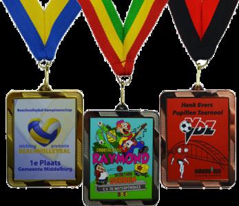 SUPER medaille - rechthoekig