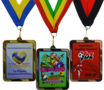 SUPER medaille rechthoekig - vanaf € 1,85