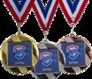 SUPER medaille rond - vanaf € 1,85