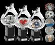 Zware trofee met reliëf-embleem