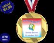 Zwemdiploma B  - Supermedaille Rond Goud
