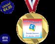Zwemdiploma C  - Supermedaille Rond Goud