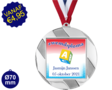 Zwemdiploma A  - Supermedaille Rond Zilver