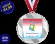 Zwemdiploma B  - Supermedaille Rond Zilver