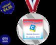 Zwemdiploma C  - Supermedaille Rond Zilver