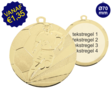 Grote Voetbal medaille D118A